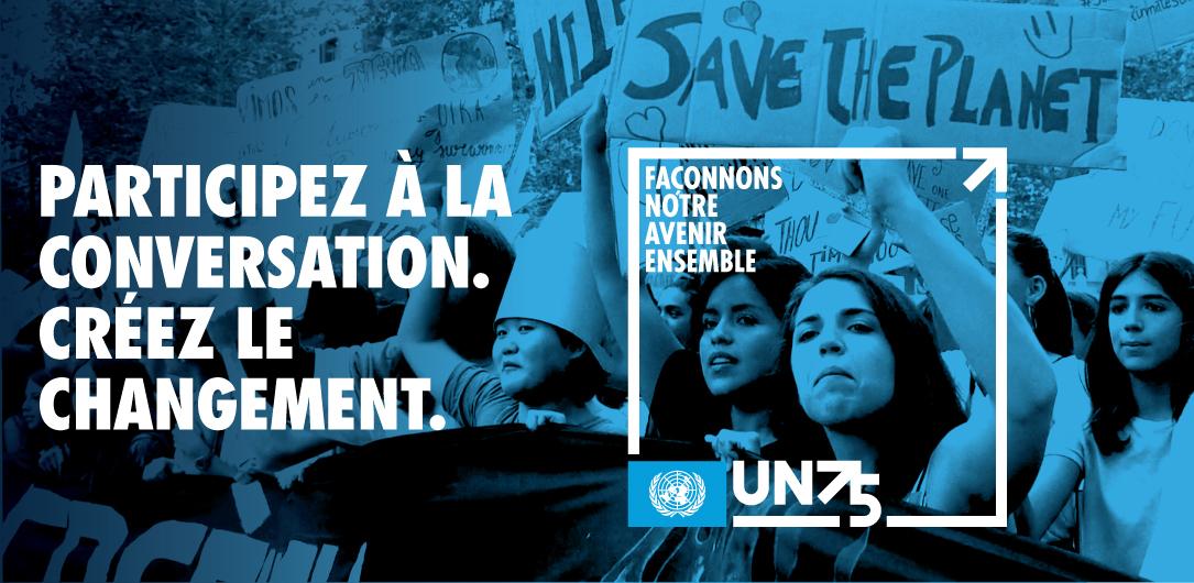 La campagne de dialogue UN75