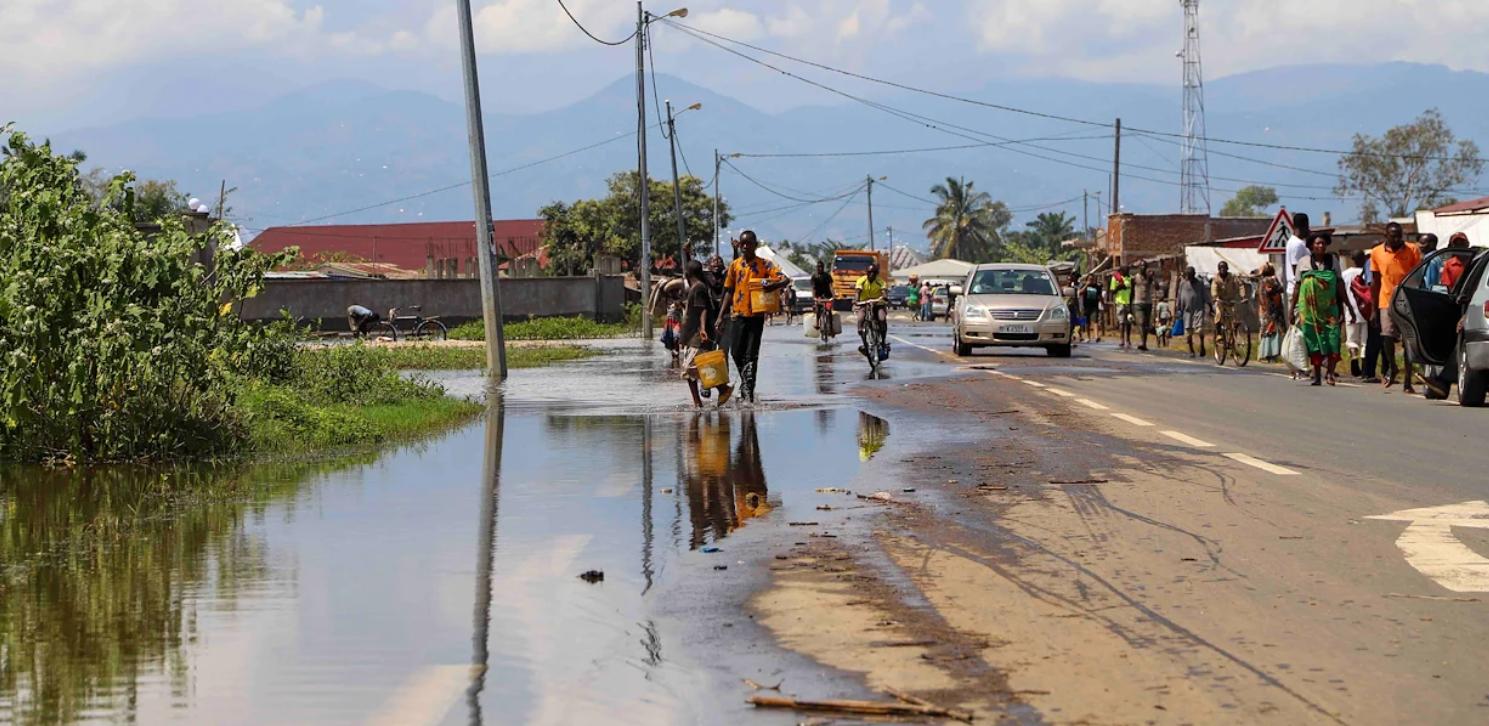 La montée des eaux cause de graves inondations au Burundi