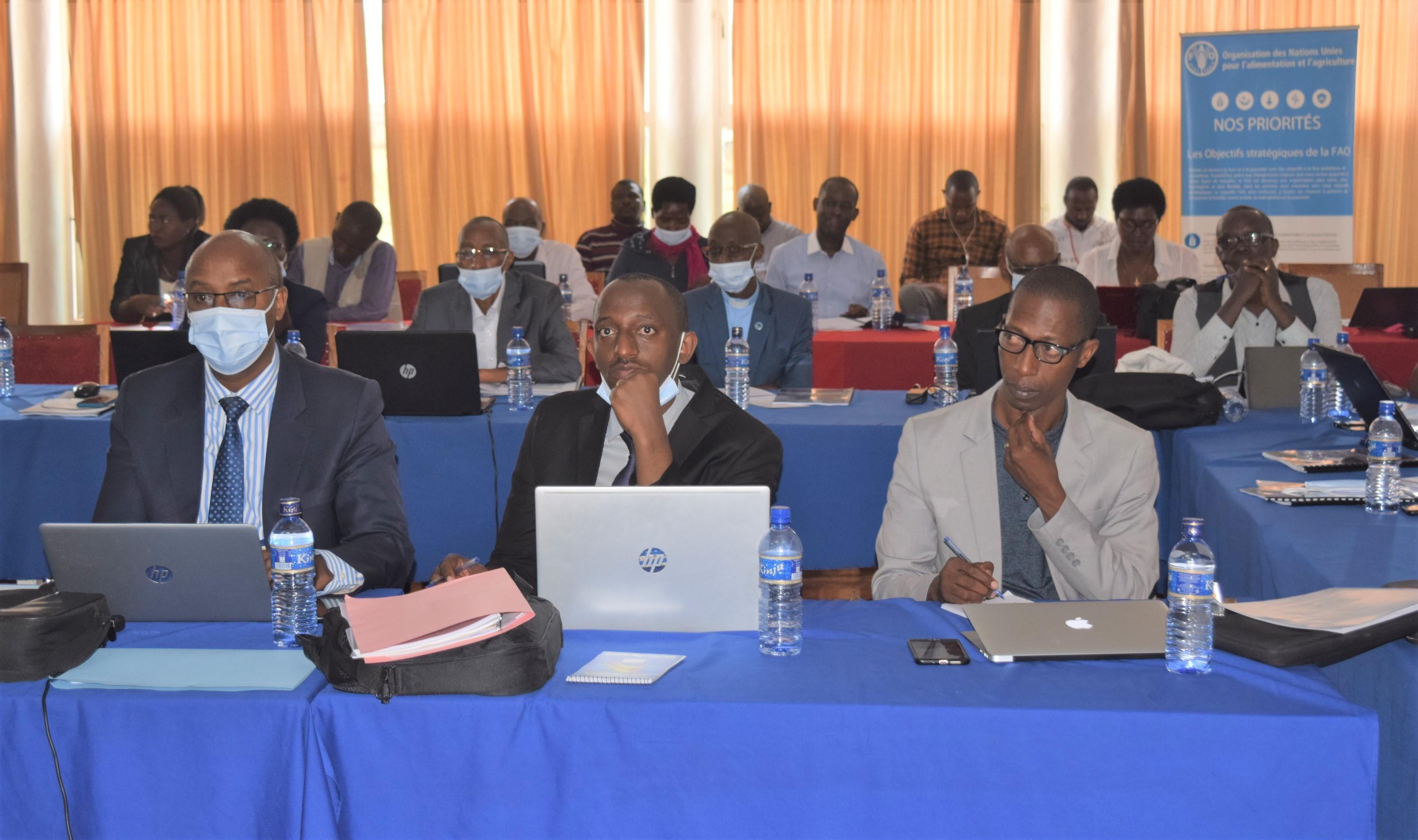 Processus d'accréditation du Burundi auprès du Secrétariat du « Fonds d'Adaptation » aux changements climatiques